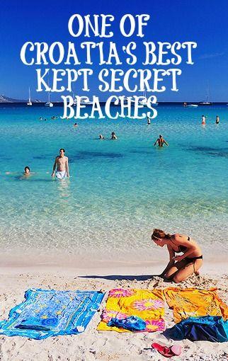 ONE OF #CROATIAS BEST KEPT SECRET BEACHES...    http://www.chasingthedonkey.com/dugi-otok-lake-mir-sukosan/