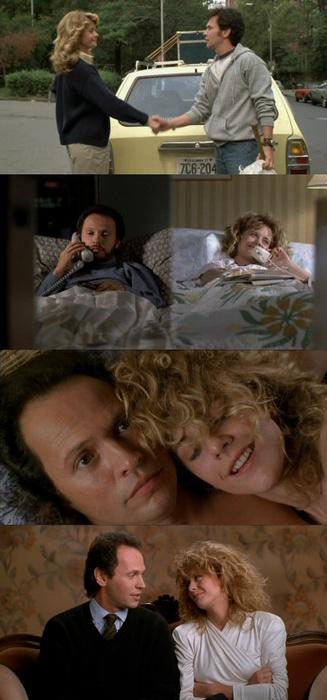 Cuando Harry conoció a Sally ♥ (1989)He venido aquí esta noche porque cuando te das cuenta de que quieres pasar el resto de tu vida con alguien deseas que el resto de tu vida empiece lo antes posible.