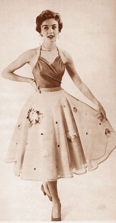 early 1950s fashion - photo #48