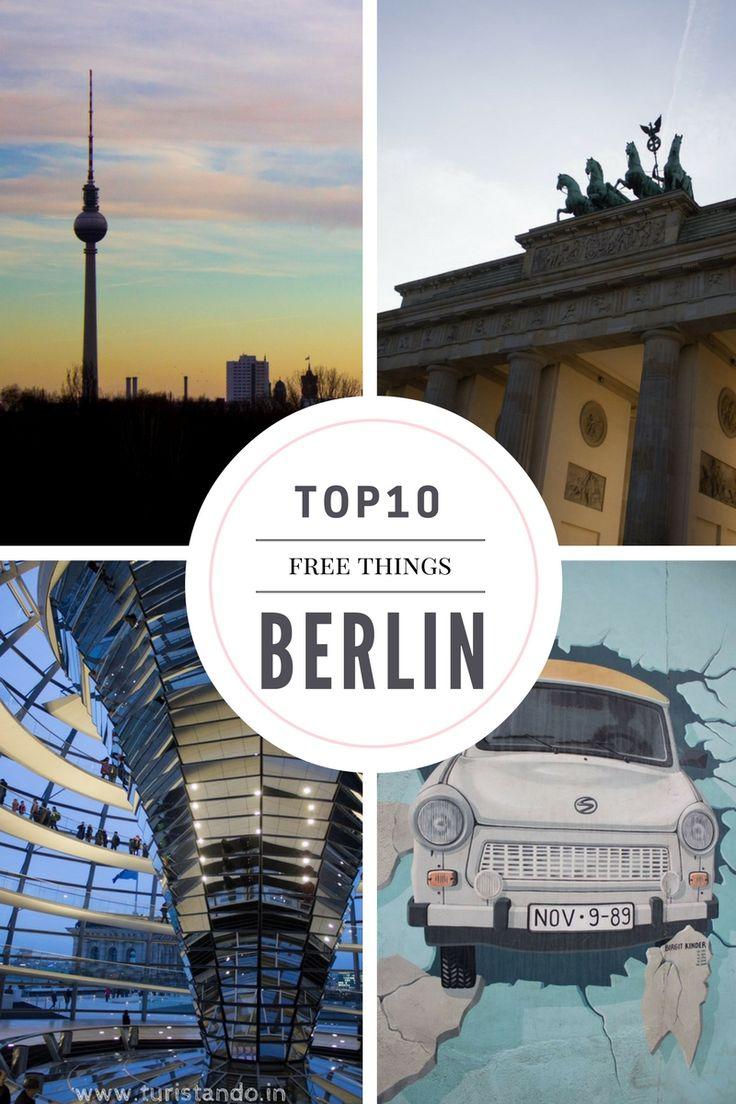Tem muita, mas muita coisa para visitar em Berlim e foi muito difícil escolher apenas 10 atrações pela cidade.  Quando comecei a escrever o post, vi que estava ultrapassando 20 lugares e que o post iria ficar imenso. Reduzi para os locais que estão no centro turístico da cidade e que, para a nossa sorte, são grátis!