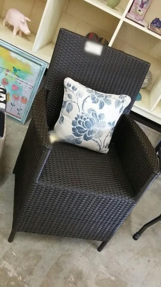 we have these stunning aluminium chairs in store.