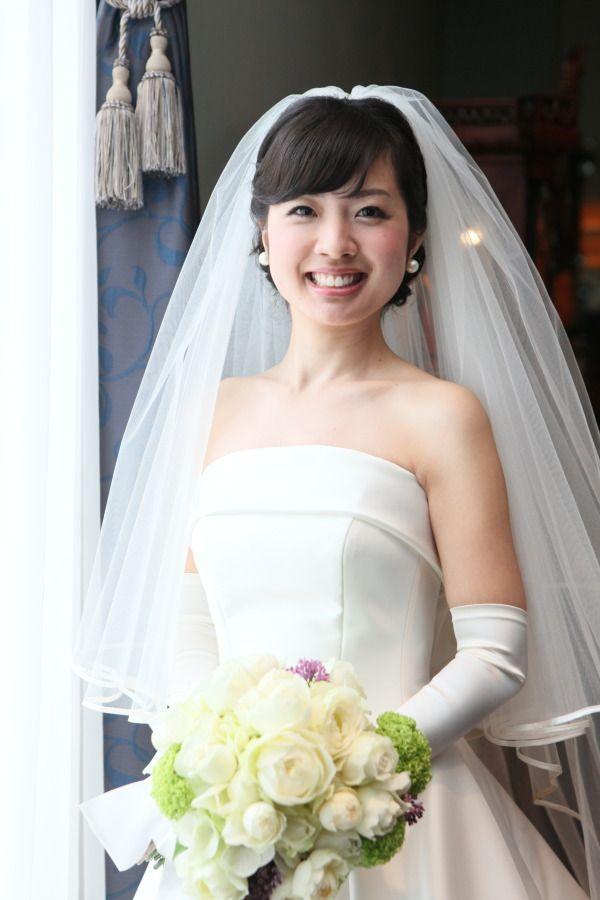 新郎新婦様からのメール 花冠と和装のヘッドドレス ウェスティンホテル東京さまへ : 一会 ウエディングの花