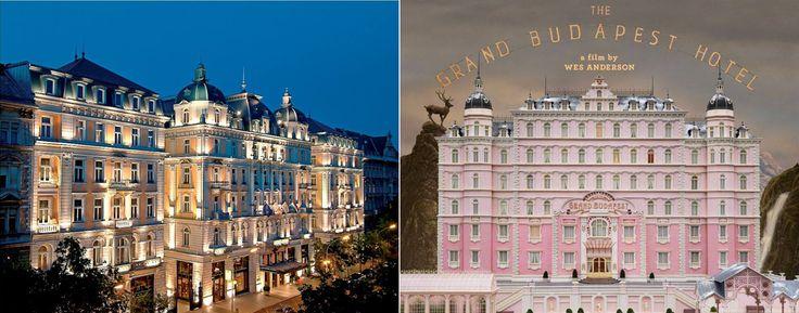 #Budapest | Corinthia Hotel Budapest & This year's Oscar winning film - The Grand Budapest Hotel. images via facebook.  #oscar #TheGrandBudapestHotel #Travel2Budapest