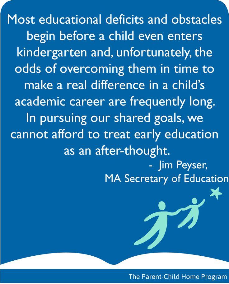Secretary Quotes: #MA Secretary Of #Education On The Importance Of #ece