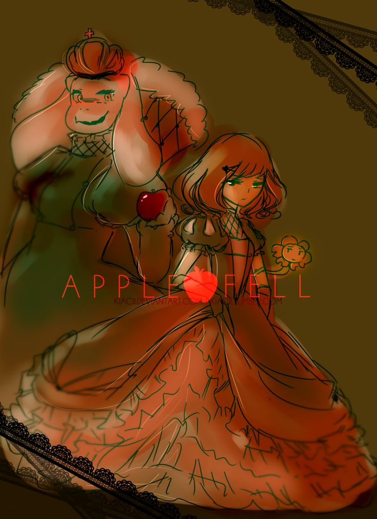 AppleFell // Frisk and Toriel