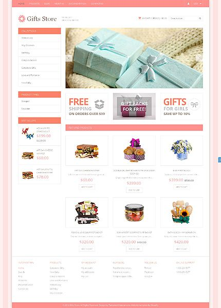 Шаблон TM49590 Тип: Shopify Themes $139