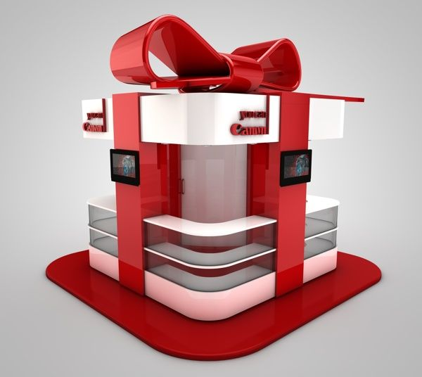 Canon Inmall Kiosk - Gift Box on Behance