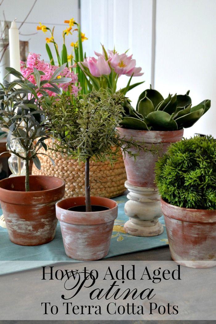 best 25 painting clay pots ideas on pinterest flower. Black Bedroom Furniture Sets. Home Design Ideas