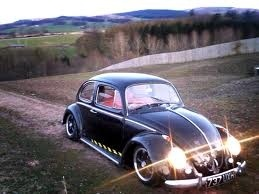 Vw: Bugg N Da, Vdub, Cars Cars Cars, Volkswagen Beetle, Cars Appreciation, Head Lights, Gears Head, Black Bugs, Cars Trucks