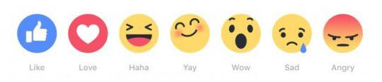 Facebook Reactions se extenderá a nivel mundial desde hoy
