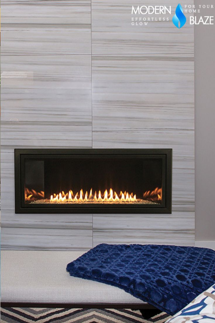 Empire Boulevard Linear VentFree Gas Fireplace, Sizes