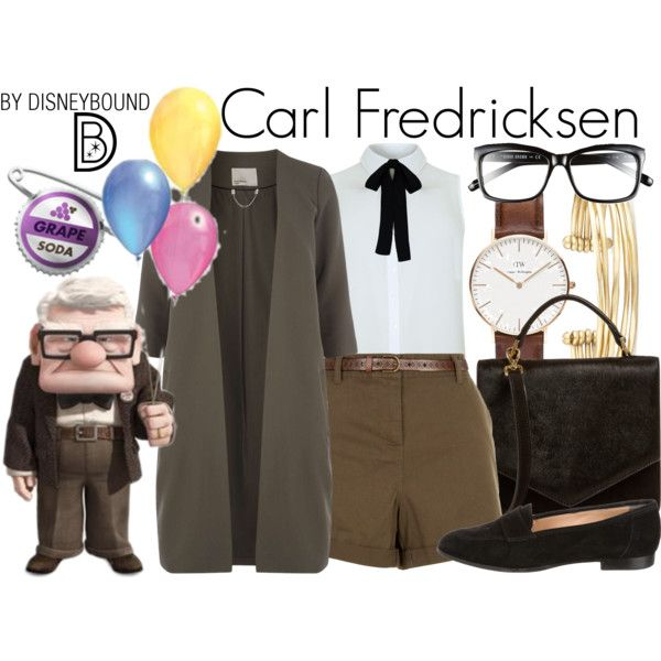 Disney Bound - Carl Fredricksen