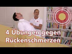 Rückenschmerzen??? 4 Rückenübungen vom Schmerzspezialisten - YouTube