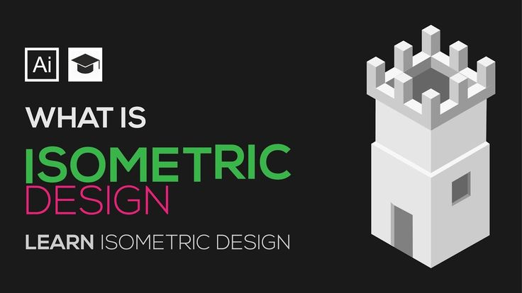 What is isometric Design | Learn isometric Grid | How to Design with iso...