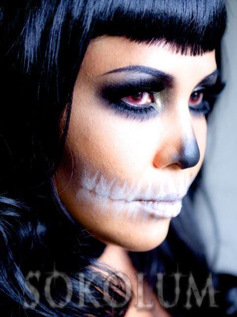 skeleton makeup photography - Google Search