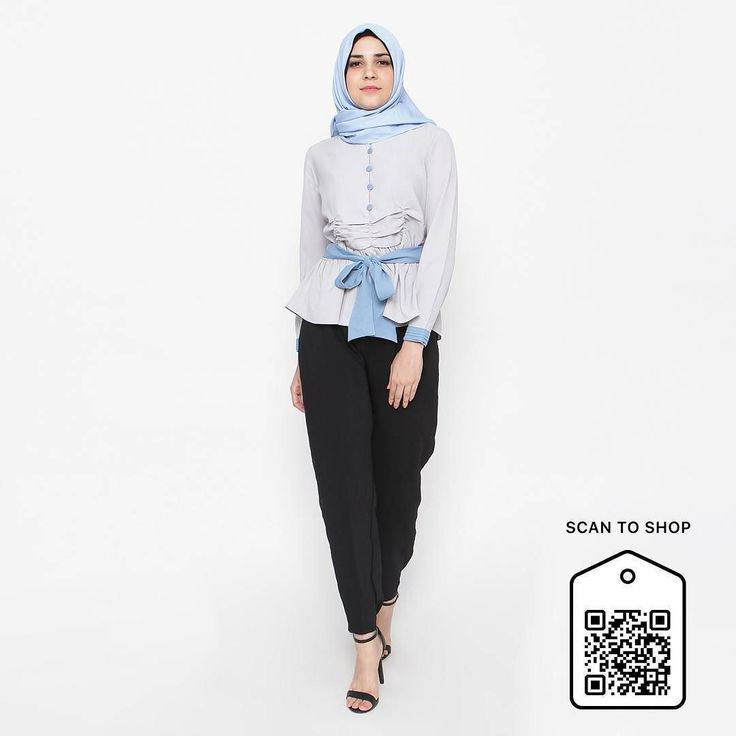 Good morning ladies... Giong Top now also available at blibli.com. To shop at our store simply cek www.eclemix.com or scan the code. You can also contact our admin at : line@: @eclemix  or WA: 081326004010. Happy shopping :) . #eclemix #eclemixcatalog #hijab #fashion #ootd #bandung #localbrand #beauty #top #bliblisekarang