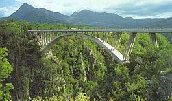 Paul Sauer Bridge at Tsitsikamma National Park