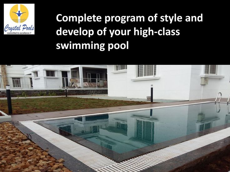 Complete program of style and develop of your high class swimming pool  Swimming…