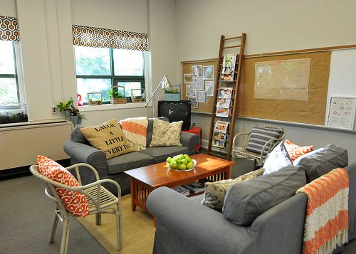 Supply List: Surprise Teachers' Lounge Makeover | DIY Del Ray