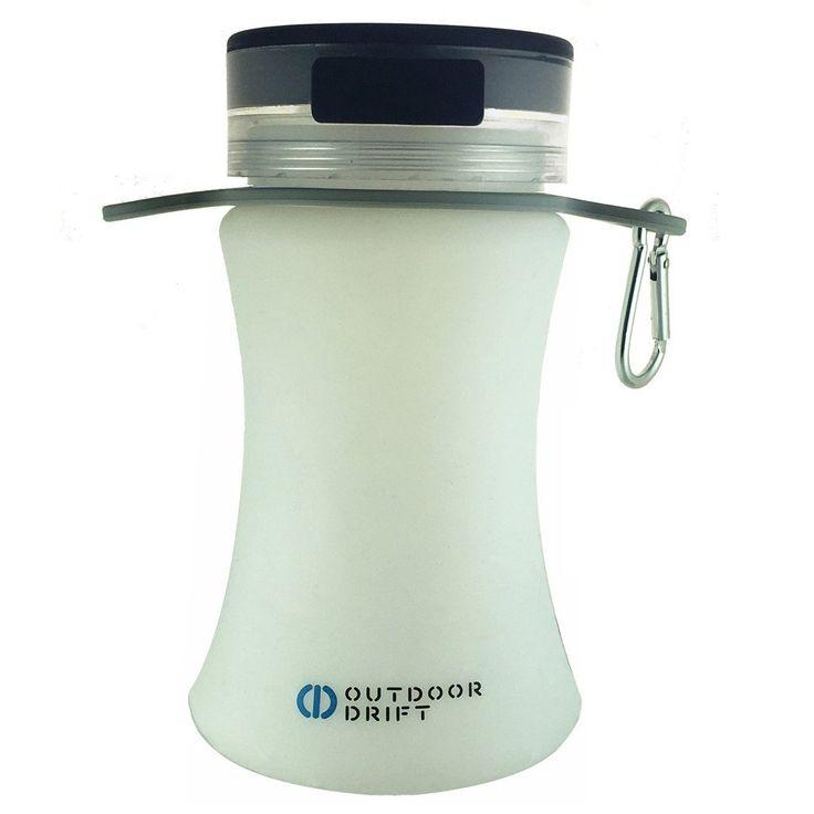SolarBottle - Solar powered lantern, waterproof 20 oz. bottle