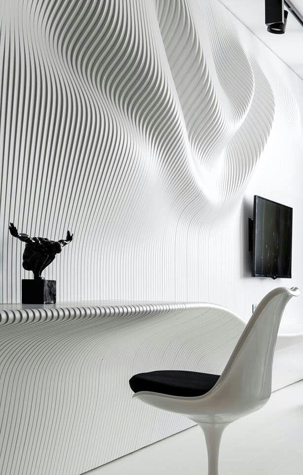 (Visit facebook.com/DotThings) Parametric wall