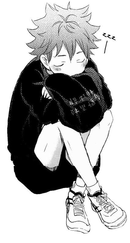 Sleeping Baby Crows | Hinata Shouyo | Haikyuu!!