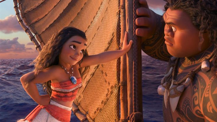 "Film Clip: 'Moana'  Watch a film clip from ""Moana,"" starring Auli'i Cravalho, Dwayne Johnson, and Rachel House. Photo: Walt Disney Pictures. #Moana http://rock.ly/8qgxb"