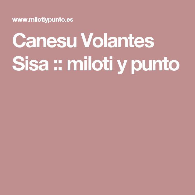 Canesu Volantes Sisa :: miloti y punto