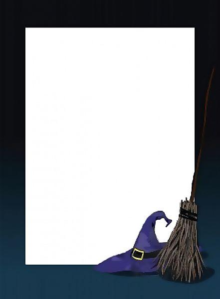 Free download - Halloween frame for easy poster design.