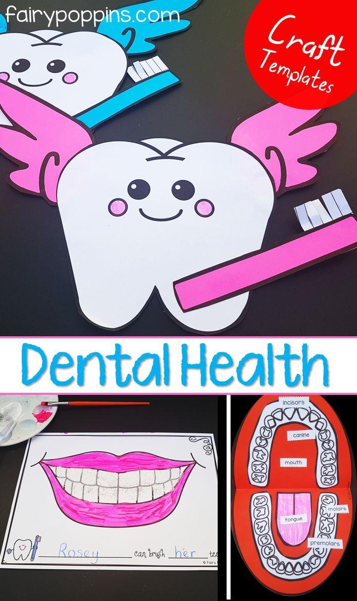 Dental Activities for Kids   Fairy Poppins   Dental health preschool [ 1210 x 720 Pixel ]