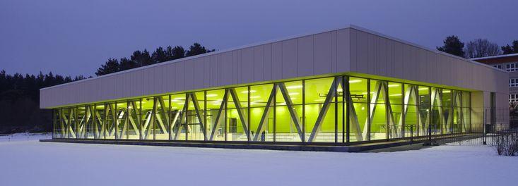Sporthalle Borgsdorf in Hohen Neuendorf von Numrich Albrecht Klumpp Architekten