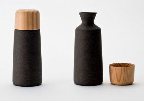 Sake cup by Kazuya Koike