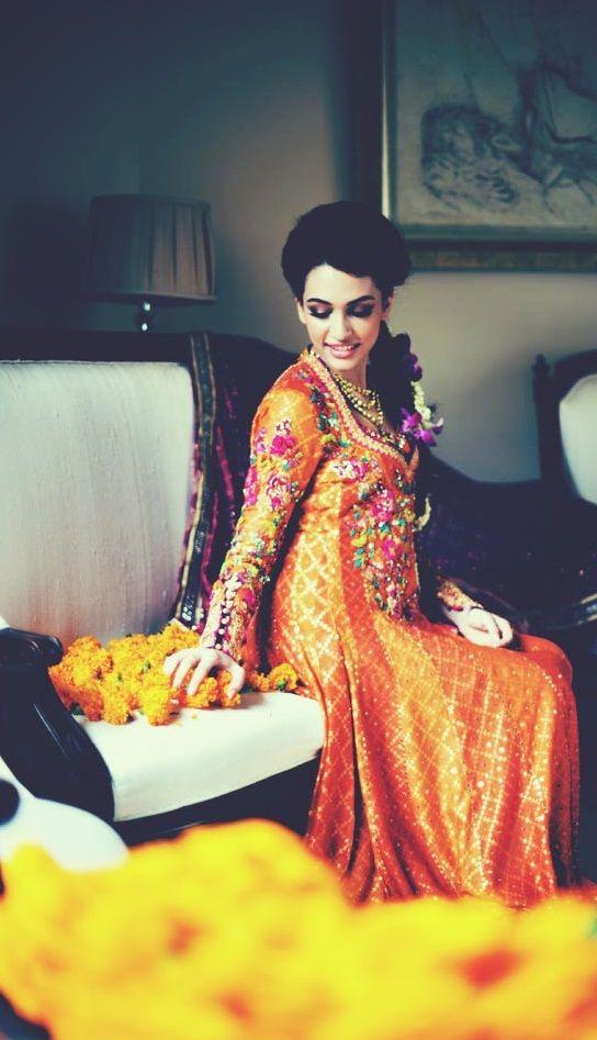 Beautiful Mendhi Outfit