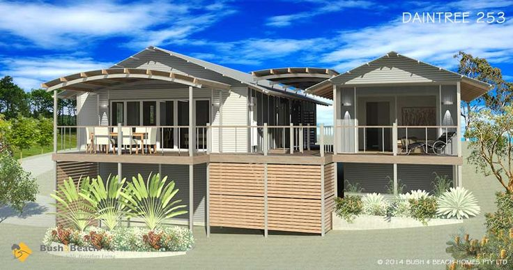 Bush and beach designer kit homes home design and style for Kit homes alaska