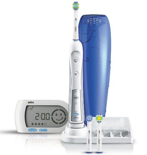 Braun Oral-B Triumph 5000 Five-Mode Power Toothbrush with Wireless Smart Guide Oral-B http://www.amazon.co.uk/dp/B0050AJ3EY/ref=cm_sw_r_pi_dp_p.Qfub1N4PG0G