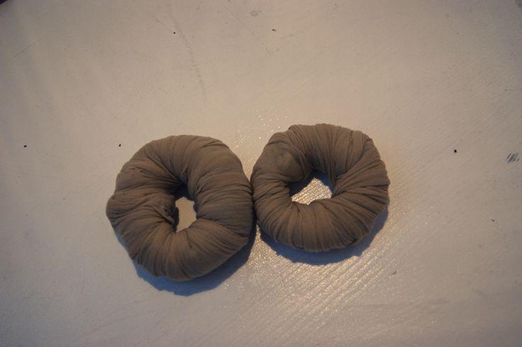 DIY hair-donut