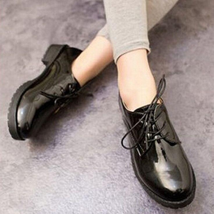 новый 2014 ёенщин квартир высокое качество твердых pu кожа обычный ёенщины плоские ботинки size35-39 xwd856 2 цвета