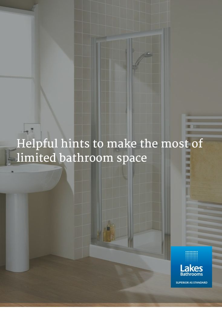 We have put together some useful hints and tips to make the most of limited bathroom space