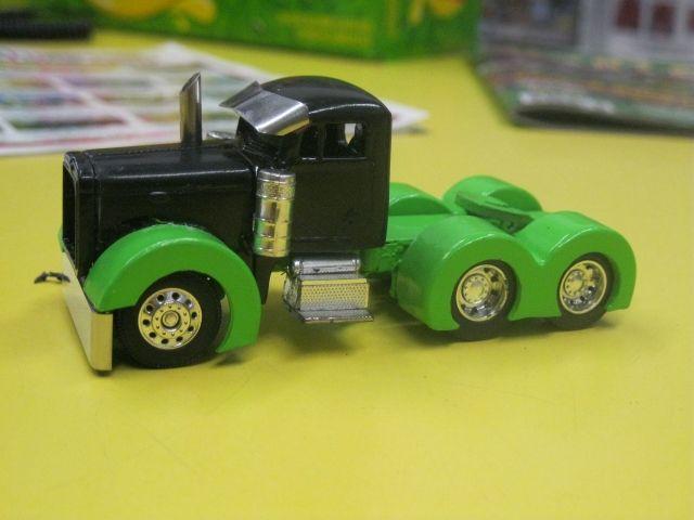 1/64 custom semi pulling trucks - Google Search   toy ...