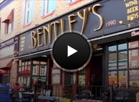 Bentley's is located on Ontario St. in Stratford, ON