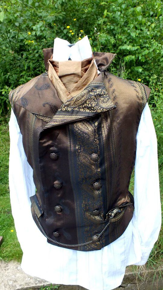 Victorian Steampunk Vest: Steampunk Stylish, Steampunk Vittorian, Steampunk Costumes, Steampunk Man, Steampunk Style, Steampunk Ideas, Classy Vest, Steampunk Passion, Steampunk Vest