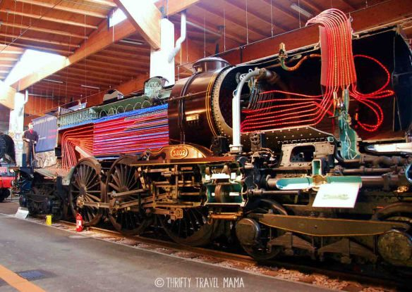 Thrifty Travel Mama | Nerdy Travel Dad - Mulhouse Train Museum (Cite du Train)