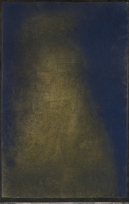 Paul Klee. Nocturnal Rock, 1927