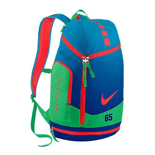 pink nike elite backpack