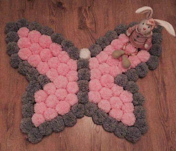 Las 25 mejores ideas sobre alfombra de pom pom en - Las mejores alfombras ...