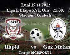 Rapid Gaz Metan Medias 19.11.2012
