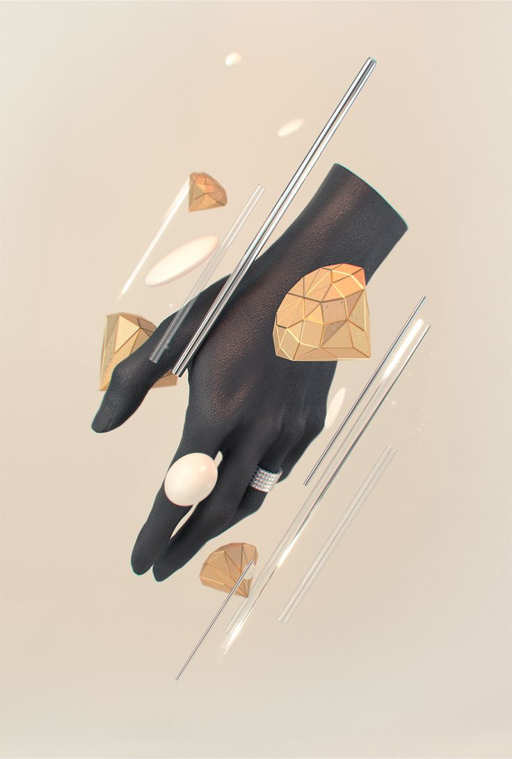 ETERNAL - 3D hand render