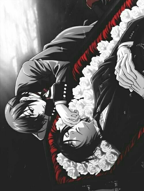 """Black Butler ~~ This makes me even MORE eager for """"Book of Murder""""! :: Ciel and Sebastian"""