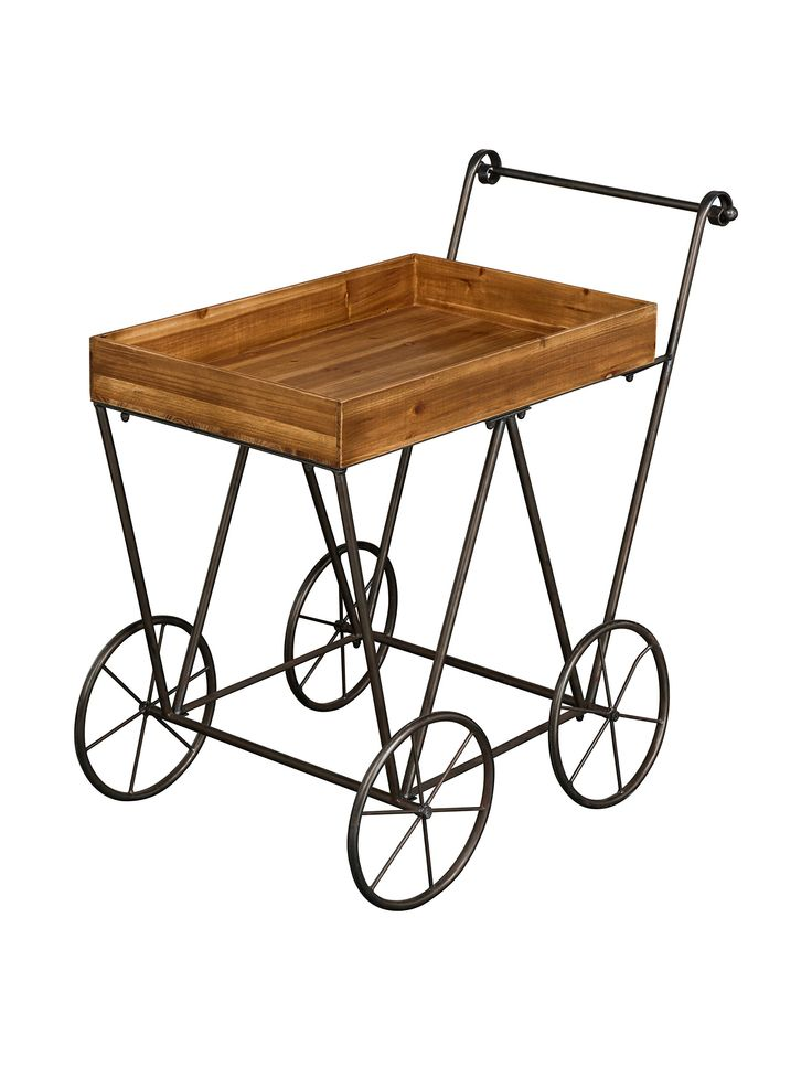 Metal Loft Carrito De Servicio Foundry Marrn en Amazon ...