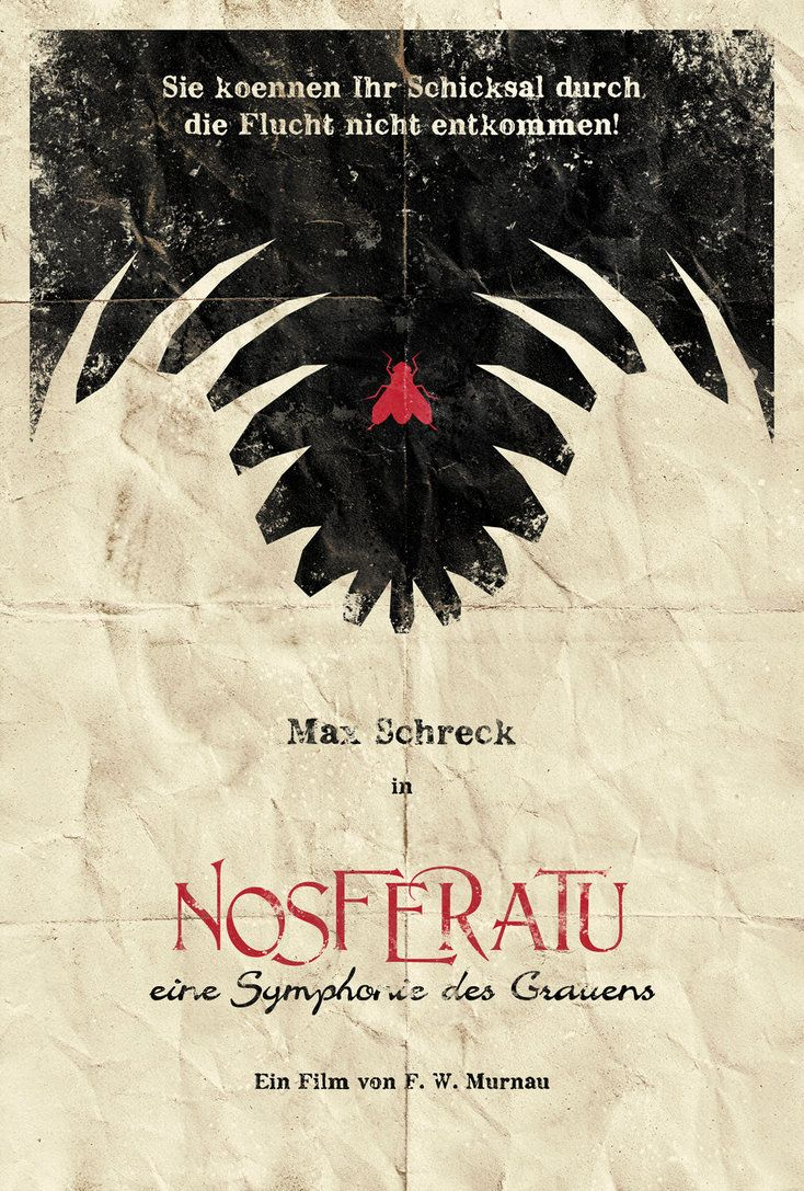 Nosferatu directed by Friedrich Wilhelm Murnau. https://www.youtube.com/watch?v=0LOOhc2eML4